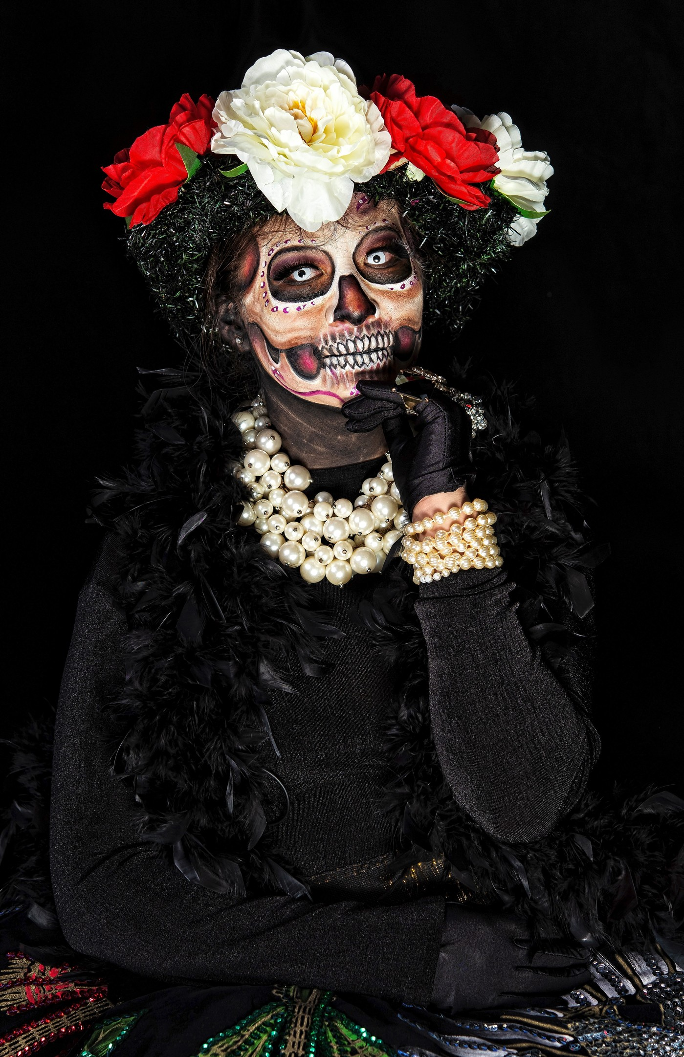 Jour Des Morts (mexique) : morts, (mexique), Mexique,, Catrinas, Secours, Tradition, Morts
