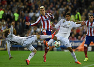 In 2015, Modric (left) and Varane (right) faced Griezmann (at the center).