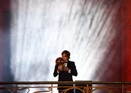 Croatian Luka Modric is the winner of the 2018 Ballon d'Or in Paris, Dec. 3, 2010