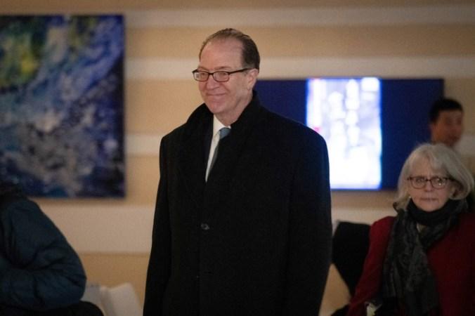 David Malpass in Beijing on January 7, 2019 / More Bank