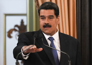 The head of the Venezuelan State challenged Nicolas Maduro, during a speech in Cara ...