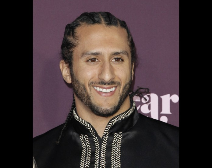 American football player Colin Kaepernick in Los Angeles on May 3, 2018 / GETTY IMAGES NORTH AMERICA / AFP / Archives
