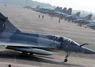 Un avión Mirage de la Fuerza Aérea de la India, India, 10 de diciembre de 2018.