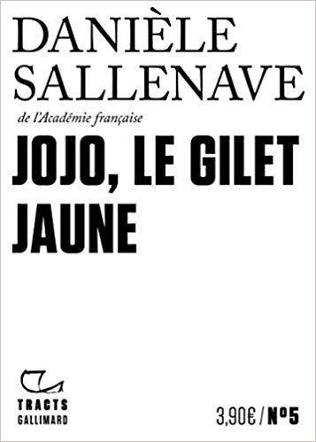 « Jojo, le gilet jaune » de Danièle Sallenave