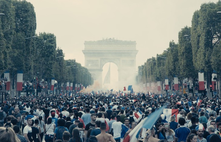 The celebration of the 2018 World Cup victory on the Champs-Élysées / The Pact
