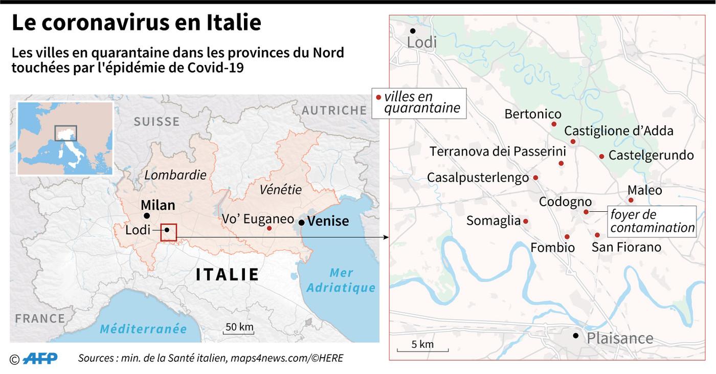 A Zorlesco, en zone rouge italienne, la vie au temps du coronavirus