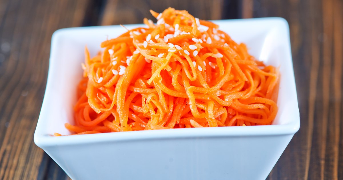 How to Prepare Shredded Carrots for Freezing | LIVESTRONG.COM