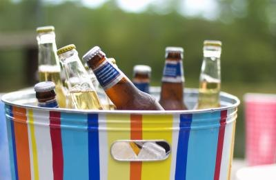 Alcohol is high in calories and low in nutrition like sweets.