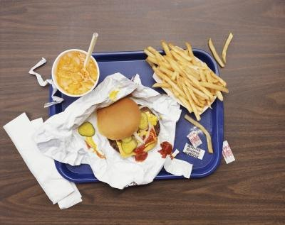 Fast food is high in calories and low in nutrition.