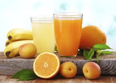 Fruit juice is often high in sugar.