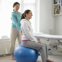 Better Posture Office Chair Modern Chairs Living Room The Benefits Of Using A Stability Ball As | Livestrong.com