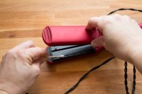 How to Clean the Ceramic Plates on a Hair Straightener ...
