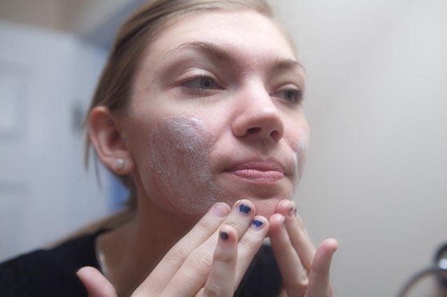Homemade Baking Soda Facial Scrub