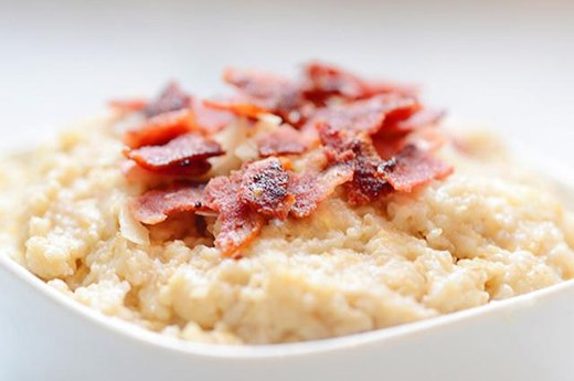 11. Savory Protein Oats