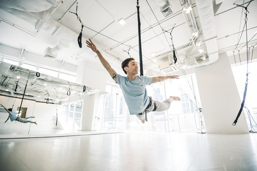 2. Bungee Workout
