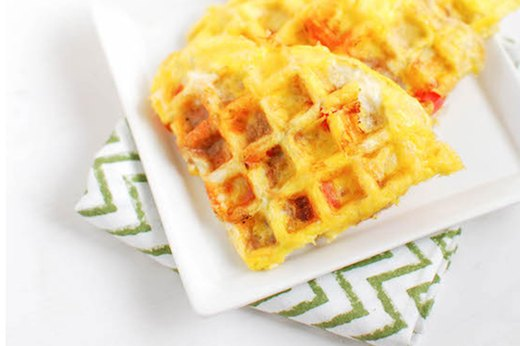 1. If You Like Scrambled Eggs … Try Egg Waffles