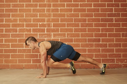 4. Knee-to-Chest (Mountain Climber) Push-Up
