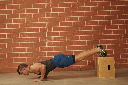 16. Decline Push-Up
