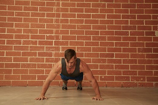 22. Wide-Grip Push-Up