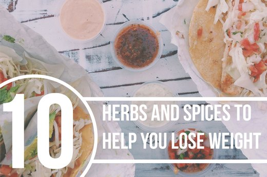 10 Herbs and Spices to Help You Lose Weight
