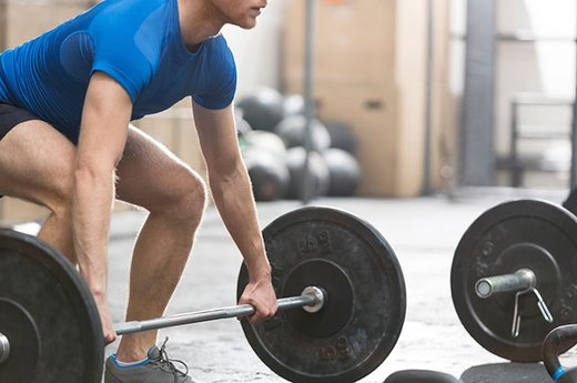 9. Hang Clean 125 Percent of Your Body Weight