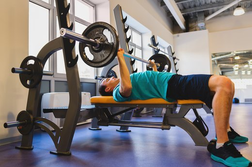 2. Bench Press 150 Percent of Your Body Weight