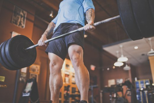 3. Stiff-Leg Deadlifts