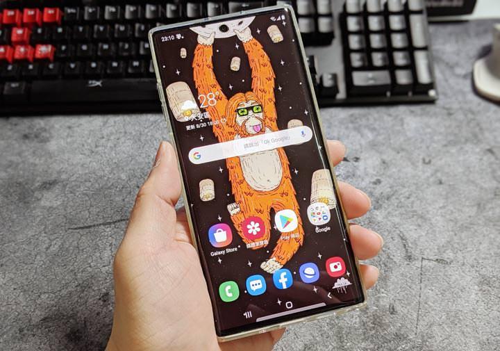[Mobile] Galaxy Store 也有 Galaxy Note10 專用的「洞洞桌布」可以免費下載囉! - 阿祥的網路筆記本
