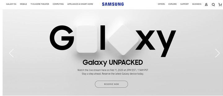 三星 Galaxy S20 將在 3/6 開賣?美國三星官網洩露天機… - 阿祥的網路筆記本