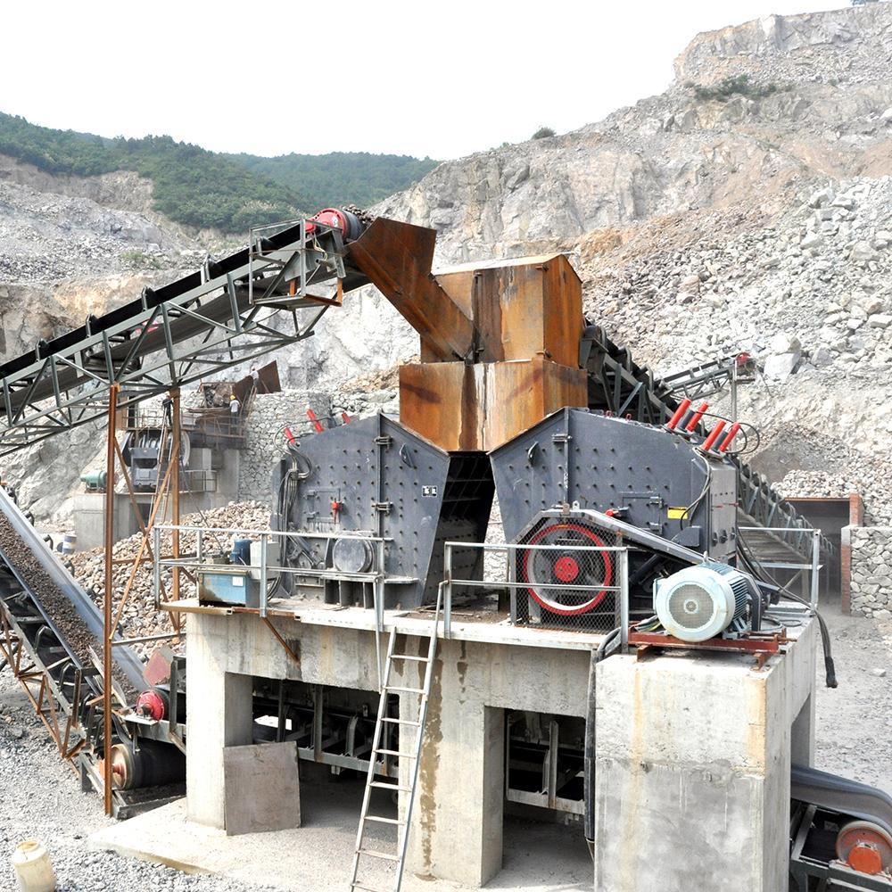 世邦礦山采石場石頭礦石碎石機PF反擊破碎機 | 世邦工業科技集團股份有限公司
