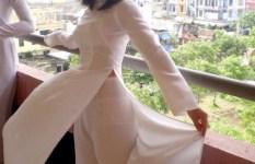 アオザイがエロいのか、ベトナム美人がエロいのか。最もエロい民族衣装と話題のアオザイを着た美人の画像