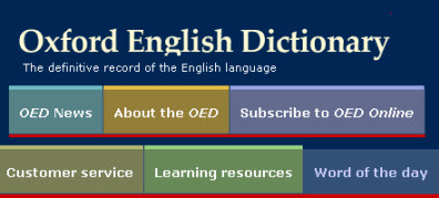 Oxford English Dictionary Online