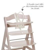 Hauck Hochstuhl Holz Baby Alpha + Plus - White-Washed ...