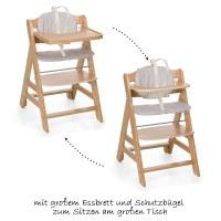 Hauck Baby und Kinder Hochstuhl Beta Plus - Natur ...