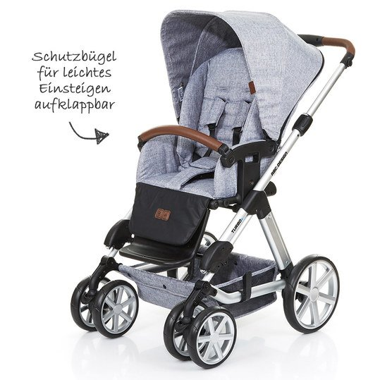 Abc Turbo 6 Graphite Grey Kinderwagen Turbo 6 Kinder