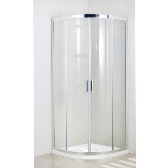 Box Doccia Semicircolare Cristallo 6mm Trasparente O Opaco Slim Box062