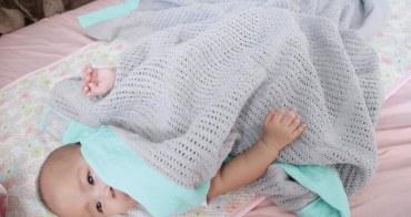 [寶寶] 小孩其實很怕熱,給寶寶最透氣又安全的寢具-韓國GIO Pillow、Mama Designs洞洞毯