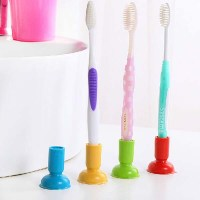Simple Creative Suction Cup Toothbrush Holder at Banggood