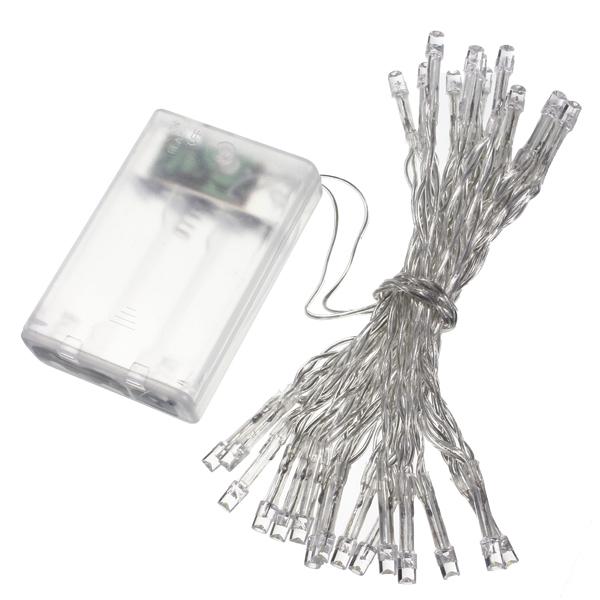 AA Battery Mini 30 LEDs Cool/Warm White Christmas String