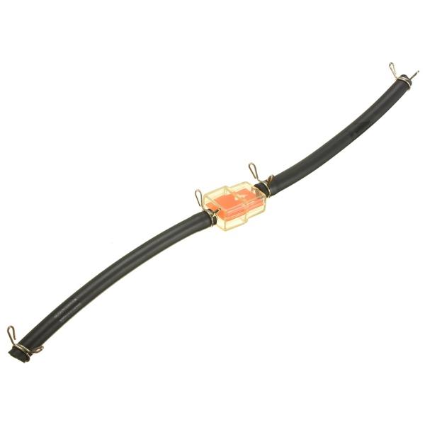 6mm 4 clips de benzine filtre à carburant tuyau d'arrosage