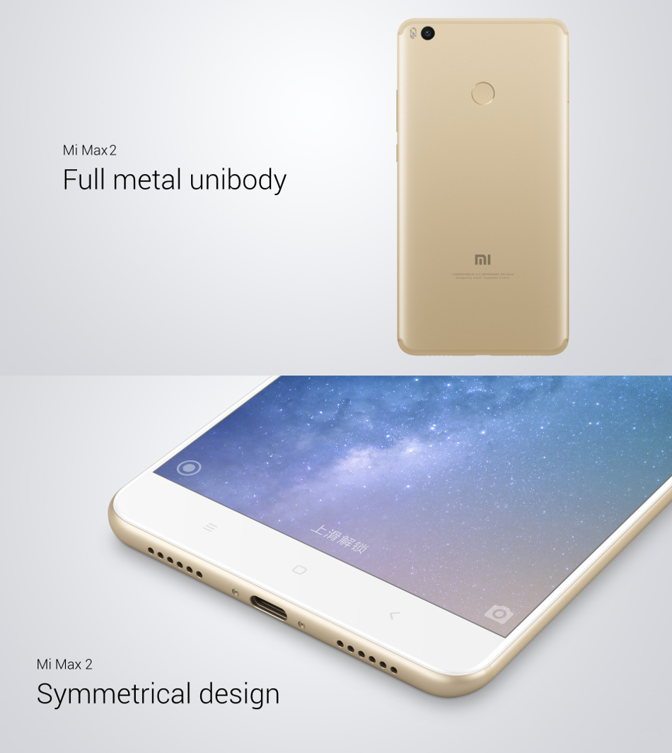 Xiaomi Mi Max 2 644 Inch 5300mah 4gb Ram 64gb Rom Snapdragon 625 Mi5c Android Nougat 71 Photos