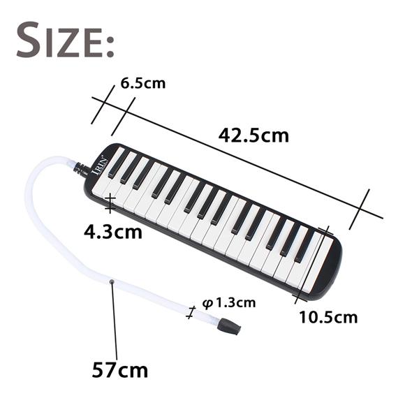 IRIN 32 Key Melodica Harmonica Electronic Keyboard Mouth