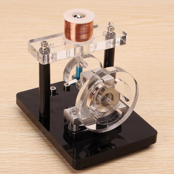 Single Cylinder Electromagnet Engine Magnetic Levitating