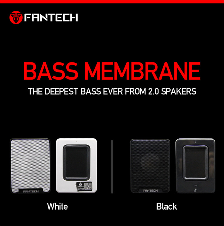 Fantech GS733 USB Wired Subwoofer Speaker Portable Sound Box 6