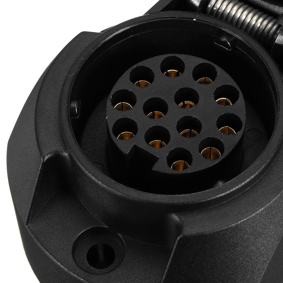 caravan grey socket wiring diagram door frame parts 12v 13pin european standard tow bar electrical