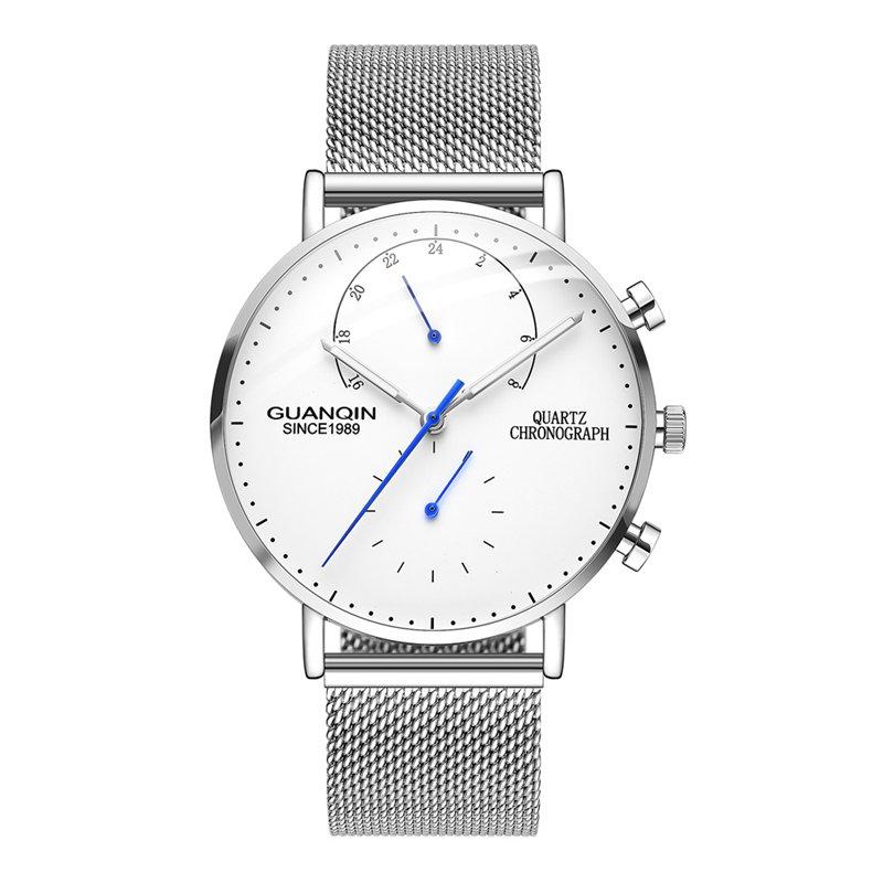 GUANQIN GS19101 Business Watch Luxury Luminous Big Dial