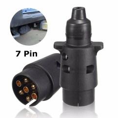 Wiring Diagram For 7 Pin Caravan Socket Car Spot Light 7pin Towing 12n Type Electrics Converter Adapter