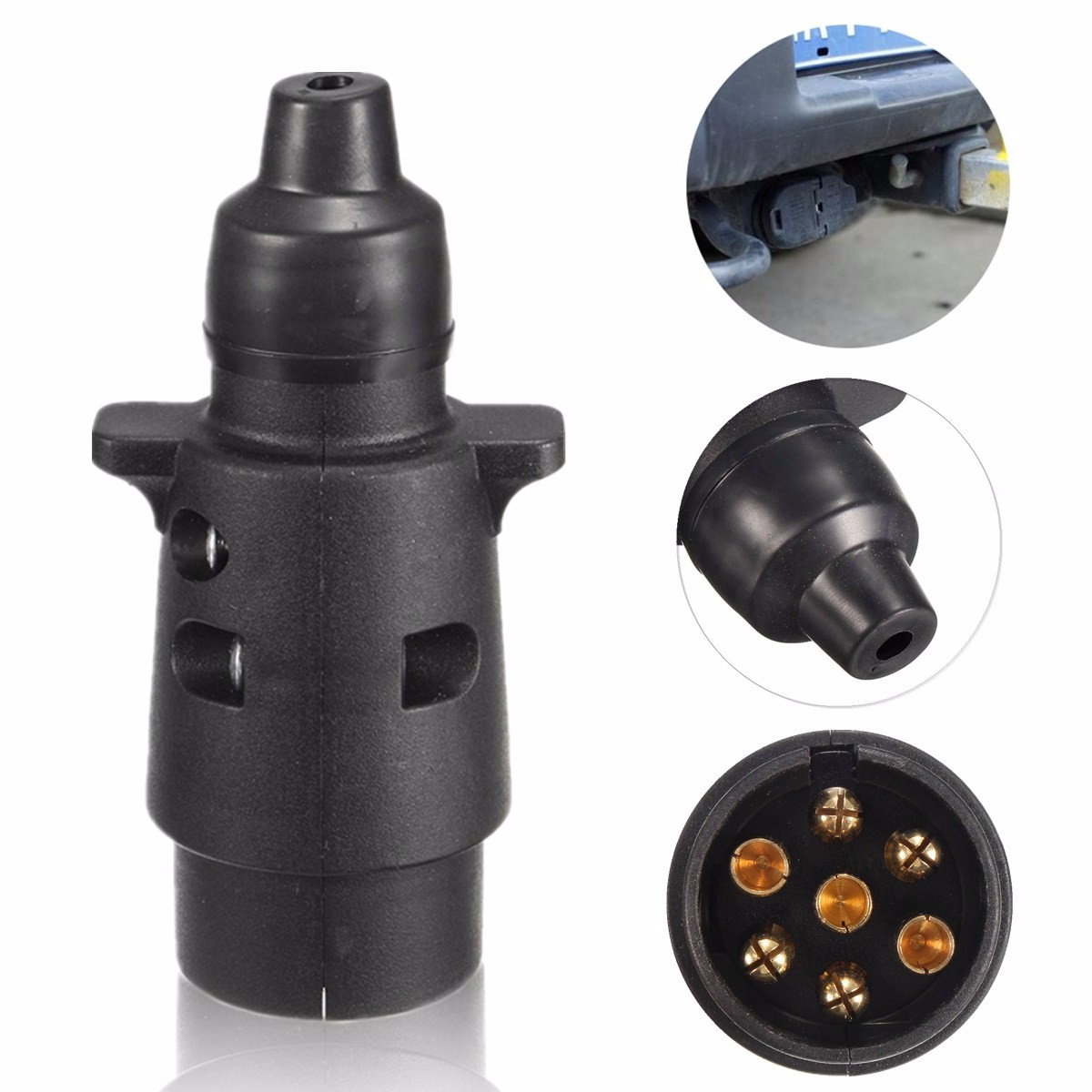 caravan grey socket wiring diagram citroen c5 towbar 7pin towing 12n type electrics converter adapter