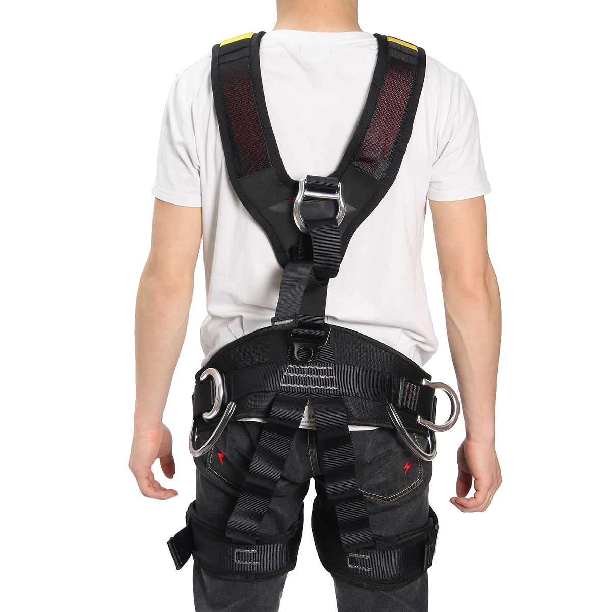 Ipree Outdoor Rescue Rock Climbing Safety Belt Sitting