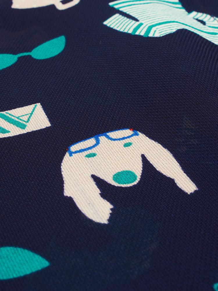 Women Cute Printed Blouse